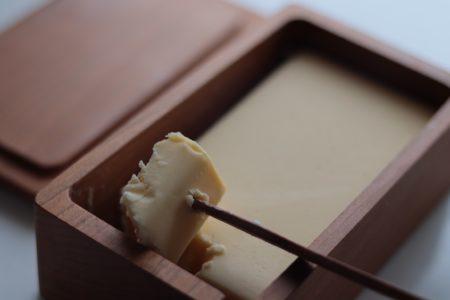 三谷龍二 山桜のバターケース