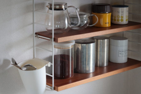 ニルス・ストリングのデザイン収納「String Pocket(ストリングポケット)」をキッチン収納に